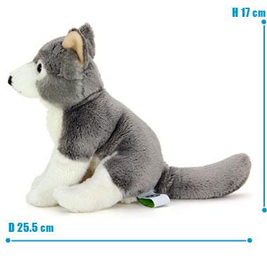 リアル 動物 生物 ぬいぐるみ リアルアニマルファミリー  オオカミ 子 サイズ