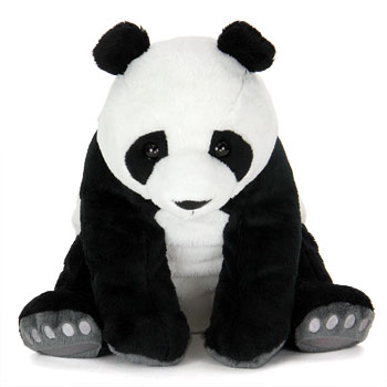 リアル動物ぬいぐるみ リアルアニマルファミリー  ジャイアントパンダ 親