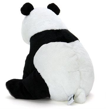 ジャイアントパンダ 親 ぬいぐるみ 横