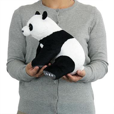 リアル 動物 生物 ぬいぐるみ リアルアニマルファミリー  ジャイアントパンダ 親 大きさ