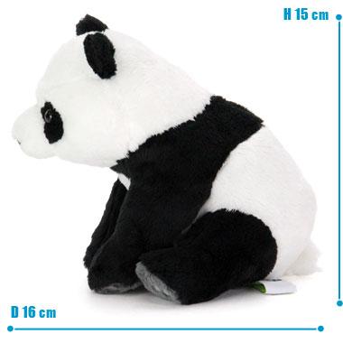 リアル 動物 生物 ぬいぐるみ リアルアニマルファミリー  ジャイアントパンダ 子 サイズ
