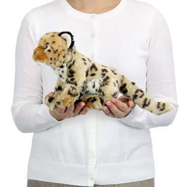 リアル 動物 生物 ぬいぐるみ リアルアニマルファミリー  ヒョウ 子 大きさ