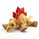 リアル恐竜物ぬいぐるみ ねそべりシリーズ ステゴサウルス 斜め