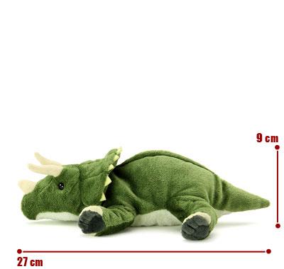 リアル動物ぬいぐるみ ねそべりシリーズ トリケラトプス サイズ