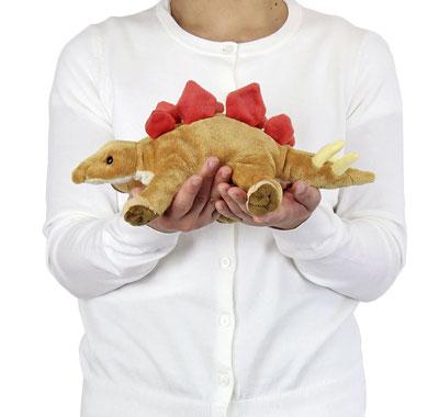 リアル動物ぬいぐるみ ねそべりシリーズ ステゴサウルス 大きさ