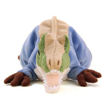 リアル恐竜ぬいぐるみ ねそべりシリーズ アロサウルス