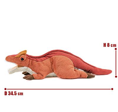 リアル動物ぬいぐるみ ねそべりシリーズ アロサウルス サイズ
