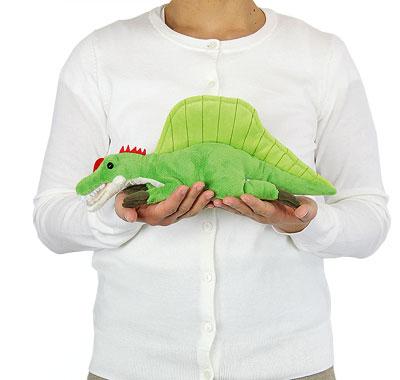 リアル動物ぬいぐるみ ねそべりシリーズ スピノサウルス 大きさ