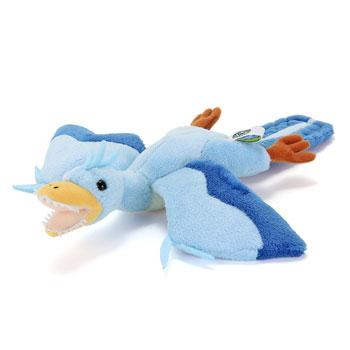 リアル恐竜ぬいぐるみ ねそべりシリーズ アーケオプテリクス(始祖鳥)