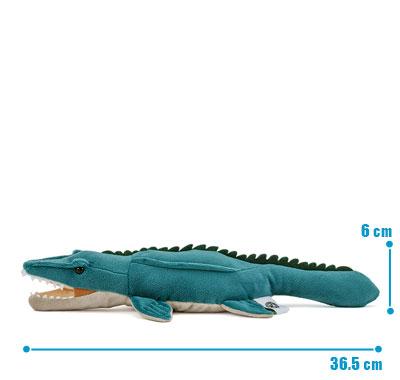 リアル海の爬虫類ぬいぐるみ ねそべりシリーズ モササウルス サイズ