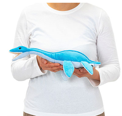 リアル海の爬虫類ぬいぐるみ ねそべりシリーズ フタバスズキリュウ 大きさ