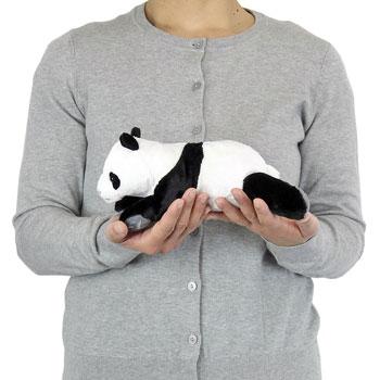 リアル動物ぬいぐるみ ねそべりシリーズ ジャイアントパンダ 大きさ