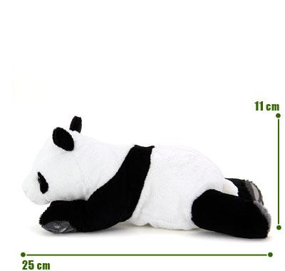 リアル動物ぬいぐるみ ねそべりシリーズ ジャイアントパンダ サイズ