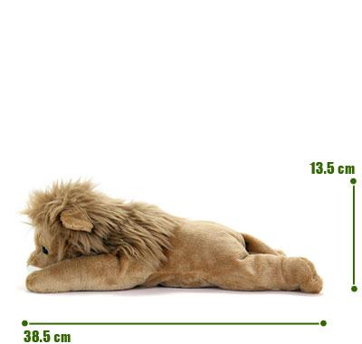 リアル動物ぬいぐるみ ねそべりシリーズ ライオン L サイズ