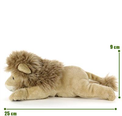 リアル動物ぬいぐるみ ねそべりシリーズ ライオン サイズ