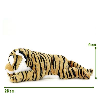 リアル動物ぬいぐるみ ねそべりシリーズ トラ サイズ