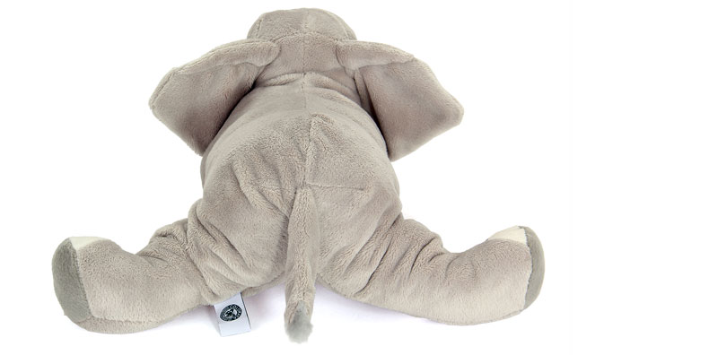 リアル動物ぬいぐるみ ねそべりシリーズ アフリカゾウ Lサイズ