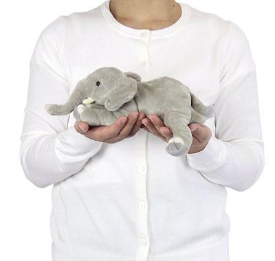 リアル動物ぬいぐるみ ねそべりシリーズ アフリカゾウ 大きさ