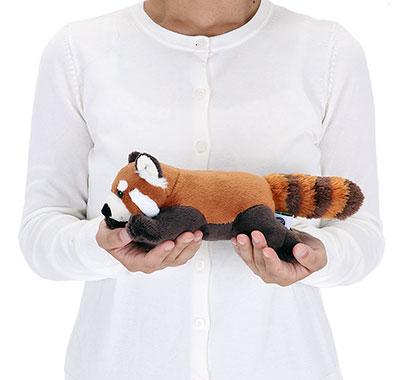 リアル動物ぬいぐるみ ねそべりシリーズ レッサーパンダ 大きさ