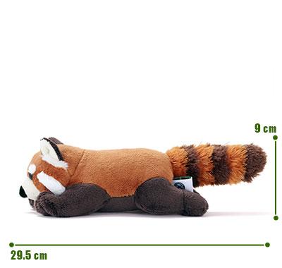 リアル動物ぬいぐるみ ねそべりシリーズ レッサーパンダ サイズ