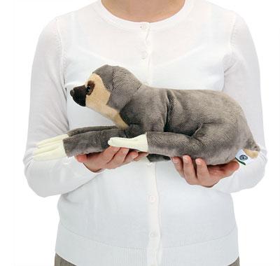 リアル動物ぬいぐるみ ねそべりシリーズ フタユビナマケモノ Lサイズ 大きさ