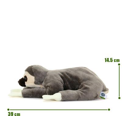 リアル動物ぬいぐるみ ねそべりシリーズ フタユビナマケモノ L サイズ