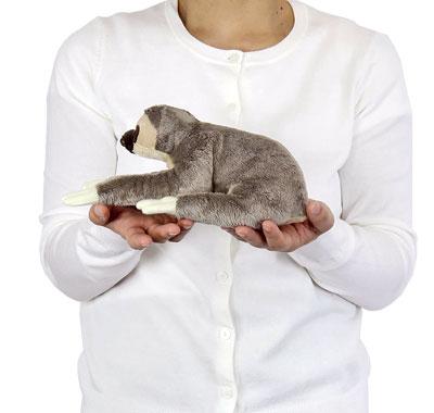 リアル動物ぬいぐるみ ねそべりシリーズ フタユビナマケモノ 大きさ