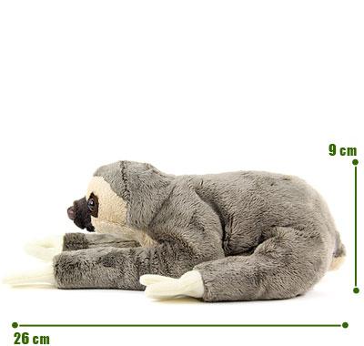リアル動物ぬいぐるみ ねそべりシリーズ フタユビナマケモノ サイズ