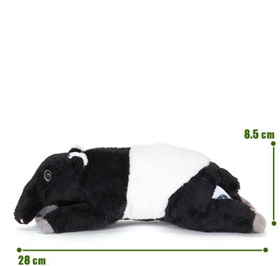 リアル動物ぬいぐるみ ねそべりシリーズ マレーバク サイズ
