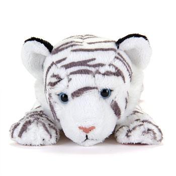 リアル動物ぬいぐるみ ねそべりシリーズ ホワイトタイガー
