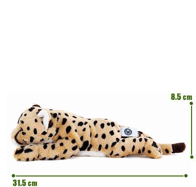 リアル動物ぬいぐるみ ねそべりシリーズ チーター サイズ