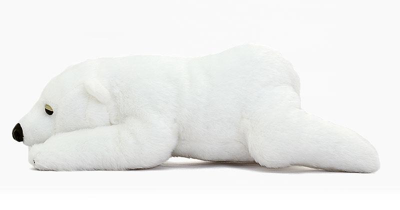 リアル動物ぬいぐるみ ねそべりシリーズ ホッキョクグマ Lサイズ ぬいぐるみ