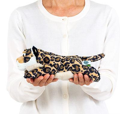 リアル動物ぬいぐるみ ねそべりシリーズ ジャガー 大きさ