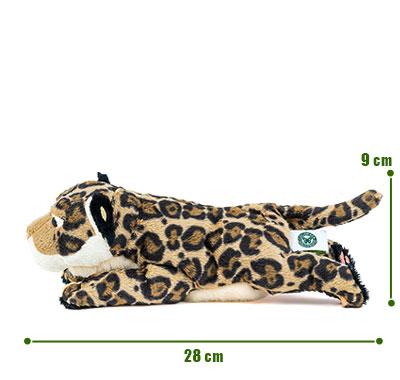 リアル動物ぬいぐるみ ねそべりシリーズ ジャガー サイズ