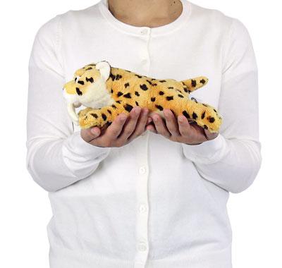 リアル動物ぬいぐるみ ねそべりシリーズ サーベルタイガー(スミロドン) 大きさ