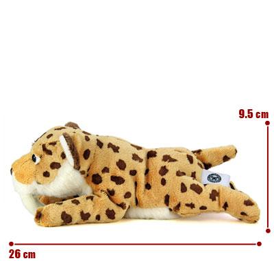 リアル動物ぬいぐるみ ねそべりシリーズ サーベルタイガー(スミロドン) サイズ