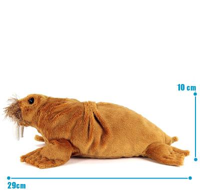 リアル動物ぬいぐるみ ねそべりシリーズ セイウチ サイズ