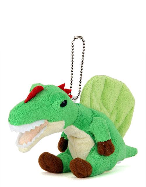 恐竜・古代生物 ぬいぐるみマスコット スピノサウルス 斜め