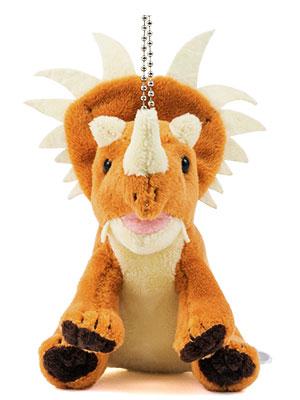 恐竜・古代生物 ぬいぐるみマスコット スティラコサウルス 正面