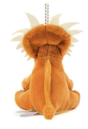 恐竜・古代生物 ぬいぐるみマスコット スティラコサウルス 後ろ