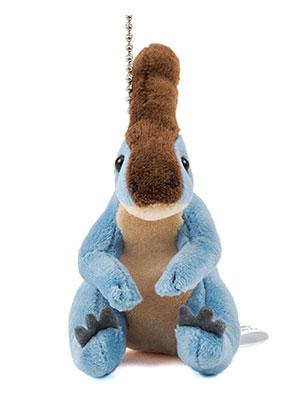恐竜・古代生物 ぬいぐるみマスコット パラサウロロフス 正面