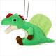 リアル恐竜ぬいぐるみ マスコット スピノサウルス 横