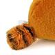 おすわりマスコット レッサーパンダ ふわふわの尾