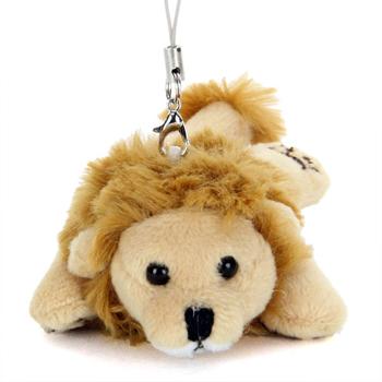 リアル動物ぬいぐるみ マスコット ねそべり ライオン