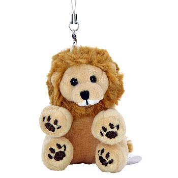 リアル動物ぬいぐるみ マスコット おすわり ライオン