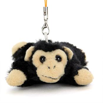 リアル動物ぬいぐるみ マスコット ねそべり チンパンジー