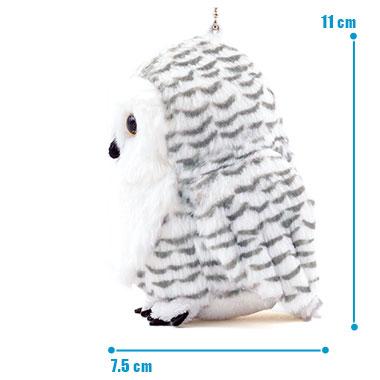 リアル 鳥類 マスコット シロフクロウ サイズ