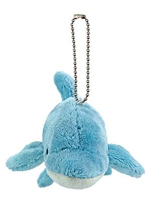 海の生物 ぬいぐるみマスコット ハンドウイルカ 正面