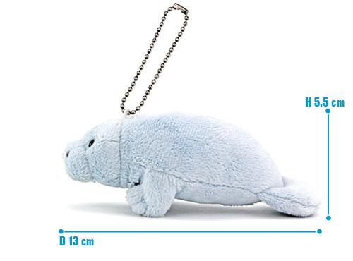 海の生物 ぬいぐるみマスコット マナティー サイズ