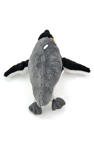 海の生物 ぬいぐるみマスコット キングペンギン 真上